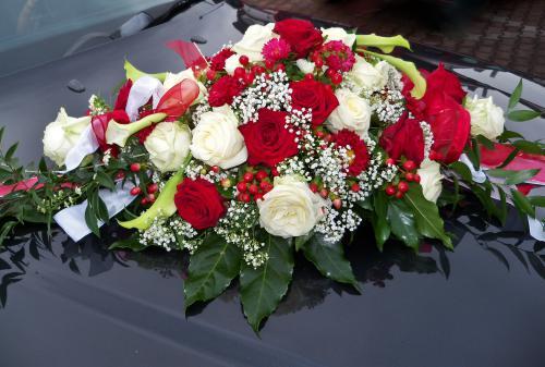 Autoschmuck 005b Www Blumen Weilrod De