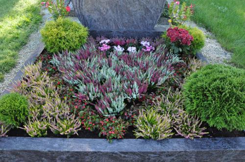Grabbepflanzung Für Den Herbst Herbstliche Pflanzen Für Das Grab ...